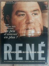 Affiche RENE Alain CAVALIER 40x60cm