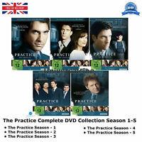 The Practice Season 1-5 The Complete Series 1 2 3 4 5 Brand New UK Region 2 DVD