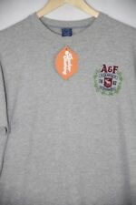 Camiseta Abercrombie A&F para Hombre Heritage Sport Musculoso Fit XXL XX Grande Gris P46