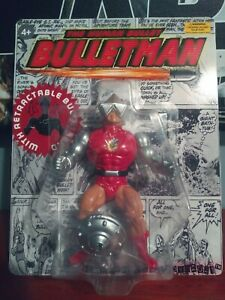 custom bulletman action figure masters of the universe knockoff adult collector