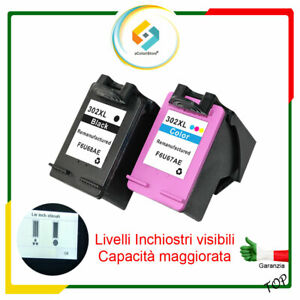 Cartucce per HP 302XL Nero e Colore OfficeJet 3800 Series OfficeJet 3830