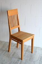 Holzstuhl Stuhl mit Holzsitz Kernbuche massiv geölt Küchenstuhl Esszimmer-stühle