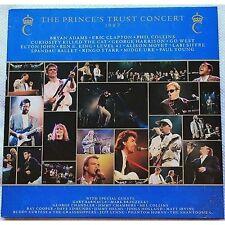 The Prince's Concert 1987 BRYAN ADAMS CLAPTON COLLINS HARRISON 2  LP VINYL