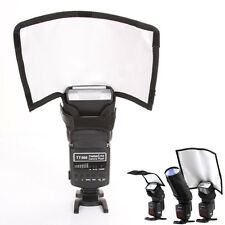 Flash Reflector Bender Snoot Diffuser Softbox for Canon Nikon Sigma Sony Yongnuo