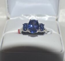 GLAMOROUS 7.25 CARATE  PREMIUM AAA TANZANITE  COCKTAIL RING  SIZE 6