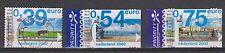 NVPH Nederland Netherlands nr 2062 - 2064 used Eurozegels 2002 Pays Bas