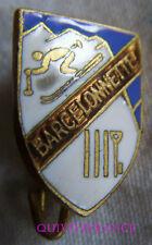 SK1580 - INSIGNE BADGE SKI BARCELONNETTE