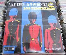 LOS TEMERARIOS LA CATEDRAL DE WINCHESTER MEXICAN COLORED VINYL LP STILL SEALED