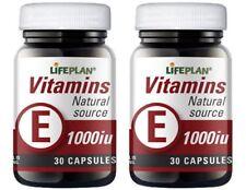LIFEPLAN vitamina E1000 1000iu 30 Cápsulas