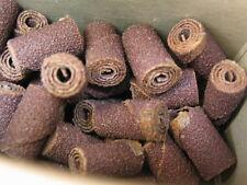 "50 Straight Cartridge Alum/Oxide Rolls (3/8""dia.X3/4"") w/1/8"" Pilot hole 60grit"