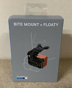 GoPro Bite Mount + Floaty, Capture POV Footage for HERO 7 Black, 6, 4