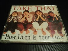 "CD MAXI 3 TITRES NEUF ""HOW DEEP IS YOUR LOVE"" Take That"
