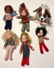 Honey Hill Bunch Chum Dog & Dolls by Mattel - Vintage 1975