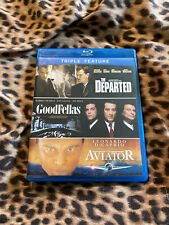 The Departed/Goodfellas/The Aviator Bluray