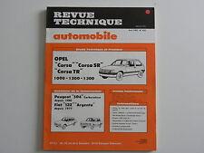 revue technique automobile RTA neuve Opel CORSA n° 432