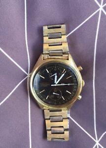 Vintage Original Seiko Chronograph 12k Gold/black Auto 6138-8020 Mens Watch