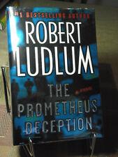 Robert Ludlum, The Prometheus Deception, Signed,1st Edition,1st Printing