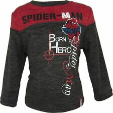 Boys Spiderman Knitted Pullover / Sweater Red-3 Years / 96 cm