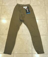 ONE PAIR OF USMC PECKHAM GRID FLEECE DRAWERS - COYOTE BROWN - EXTRA SMALL - NWT
