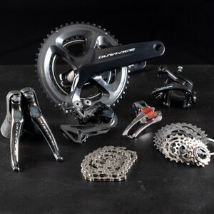 Shimano Dura Ace R-9100 Groupo New Take Off ,172.5mm arms, 52/36 2 x 11 speed