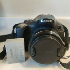 Canon PowerShot SX30 IS 14.1MP Digital SLR Camera Black w/ Battery