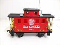 Eztec / Scientific Toys Red Rio Grande Caboose Car #4067 Train Set G Scale