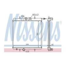 Fits Peugeot 206 1.6 16V Genuine OE Quality Nissens Engine Cooling Radiator