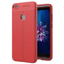 Huawei P8 Lite 2017 Cellphone Case Protective Back Cover Silicone Bumper Red