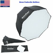 "Us Godox Octagon Softbox 80cm/31"" Inch Umbrella f Flash Speedlight Store Light"