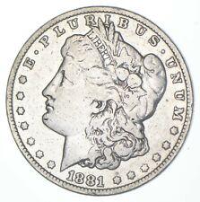 Early 1881-O Morgan Silver Dollar - 90% US Coin *017