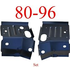 80 96 Ford Cab Mount Floor Support Set, Ford Truck & Bronco, Rust Repair Panel