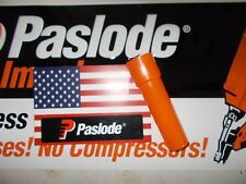 Paslode Part # 902550 Mini Cell Adaptor Obsolete Yellow Fuel Cell Finish Nailer