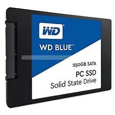 "Western Digital SSD 250GB WD Blue 2.5"" 7mm 540MB/s Read Solid State Drive New ct"