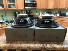 Old School Rockford Fosgate Series 1 PPR108 Subwoofers Collectors L@@K!!