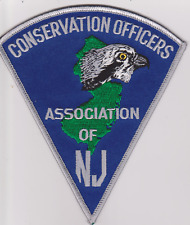 New Jersey Conservation Officers Association Game Warden Police Patch