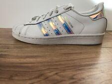adidas holographic superstars UK size 5