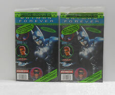 BATMAN FOREVER MOVIE STICKER ALBUM COLLECTOR KIT - FACTORY SEALED - LOT OF 2