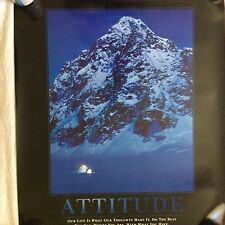 "Successories ""ATTITUDE"" Motivational Photographic Print Poster  NEW"