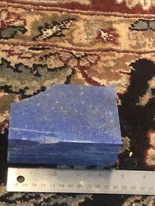 LAPIS LAZULI.  lapidary rough 2 pounds 7 oz  great color