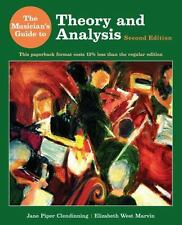 The Musician's Guide to Theory and Analysis (Second Edition), Marvin, Elizabeth