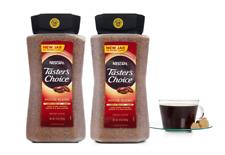 Nescafe Tasters Choice Instant Coffee 2 Pack House Blend Light Roast 14oz/397g