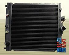 88-00 Civic CRX Integra 42mm 2 Row Performance Radiator Black EF EG EK EM1 DC DA