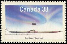 "CANADA 1231 - Native Boats ""Inuit Kayak"" (pa88406)"