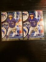 2020 Bowmans Best Bo Bichette Rookie RC Base lot of 2 Toronto Blue Jays 🔥🔥