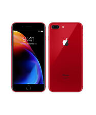 Apple iPhone 8 Plus - 64 GB - Renewed - Unlocked - Special Edition Red -Bargain!