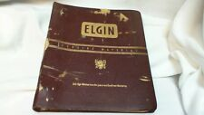 Elgin Watch Material Catalog