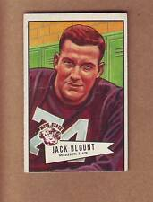 SHARP 1952 Bowman Small #80 Jack Blount ROOKIE CARD - $30.00 - Eagles Bulldogs