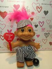 "PRISONER OF LOVE - 5"" Russ Troll Doll - NEW IN ORIGINAL WRAPPER - Pink Hair"