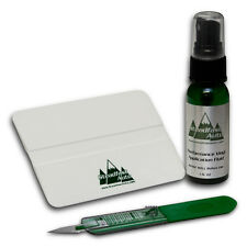 Vinyl Decal Installation Kit - Vehicle Application Fluid, Trim Knife, & Squeegee