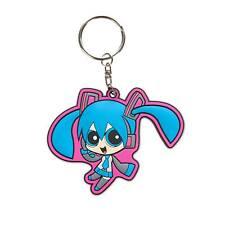Powerpuff Girls x Vocaloid Miku Hatsune PVC Keychain